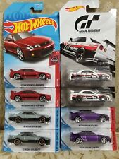 2019 Hot Wheels NISSAN SKYLINE GT from GRAN TURISMO + FAST & FURIOUS . Lot of 8