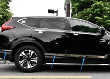 ABS Chrome Side Door Body Molding Cover Trim 6pcs For Honda CR-V CRV 2017 - 2019