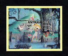 ANTIGUA - 1980 - DISNEY - SLEEPING BEAUTY - FAIRY TALES - MINT MNH S/SHEET!