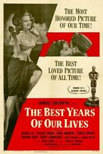 The Best Years Of Our Lives Movie Poster 27x40 Fredric March Myrna Loy Teresa