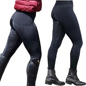 Plus Size Womens Jodhpurs Breeches Riding Trousers Horsemanship Equestrian Pants