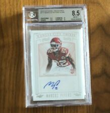 2015 National Treasures~MARCUS PETERS #177 RC~Rookie Auto SP 17/99~BGS 8.5/10