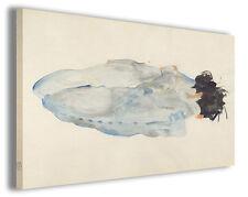 Quadro moderno Egon Schiele vol XXV stampa su tela canvas pittori famosi