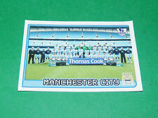 N°341 MANCHESTER CITY ENGLAND MERLIN PREMIER LEAGUE FOOTBALL 2007-2008 PANINI