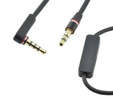 1,5m Klinke 2x 3,5mm Control talk  Audio Kabel Beats by Dr. Dre Kopfhörer Black