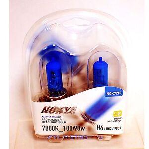 Nokya Arctic White H4 Headlight Fog light bulb 7000K