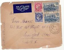 1941 France Concentration Internment Camp de Gurs prisoner Cover to USA F Kahn