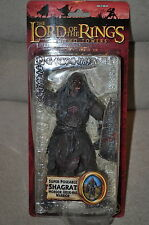 LORD OF THE RINGS TOYBIZ BATTLE 5 ARMIES SHAGRAT MORDOR URUK-HAI ORC CAPTAIN 6""