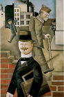 Gray Day Factory 1921 by George Grosz Fine Art Repro FREE S/H