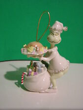 LENOX STEALING THE ROAST BEAST GRINCH Ornament NEW in BOX