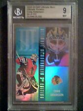 CRAIG ANDERSON  02/03 GRADED ROOKIE FOIL CARD /250 MINT 9