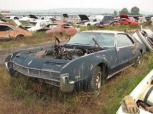 1966 Oldsmobile Toronado Parts Car 1967 1968 1969 1970 Olds Cadillac Eldorado