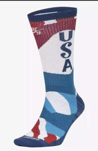 Nike SB x Parra Everyday Max Lightweight Skate Crew Socks Team USA Large 8-12