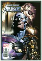 New Avengers #6 VF/NM Marvel Comics 2005 Finch Captain America Cover