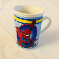 Spiderman Go Spidey Coffee Mug Cup 2011 Marvel Comics Ceramic Collectible