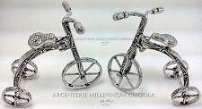 VELO TRICYCLE ARGENT FAHRRAD DREIRAD SILBER TRICYCLE SILVER SYKKEL FIETS ZILVER