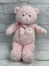 "Baby GUND PINK My First Teddy Bear Stuffed Animal Plush, 12"" EUC"