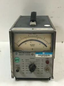 HP 3400A RMS Voltmeter 115-230v Electrical Voltage Meter Test Equipment