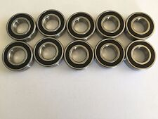 10 pcs 6004 2RS double rubber sealed ball bearing, 20x 42x 12 mm