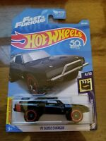 NEW Hot Wheels #104 HW SCREEN TIME #4/10 '70 Dodge Charger Fast & Furious