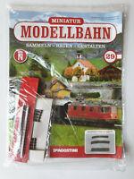 DeAgostini  Miniatur Modellbahn Spur N Nr.29 mit Heft   Neu/OVP