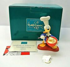 WDCC Chef Donald Duck Something Cooking Figurine 1217772 w/ Box & COA & Pin