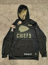 AUTHENTIC Nike 2020 Kansas City Chiefs Salute to Service Hoodie All Sizes KC