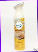 1 Febreze Air Effects VANILLA LATTE Air Freshener Room Spray Mist Bottle