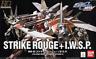 Bandai Gundam SEED MSV #01 Strike Rouge + IWSP Gundam HG 1/144 Model Kit USA