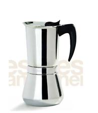 CAFFETTIERA VESPRESS VEV VIGANO' 6 TZ MACCHINA CAFFE' MACCHINETTA caffè espresso
