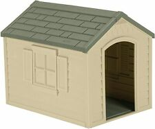 Outdoor Dog House with Door - Water Resistant and Attractive for Small t