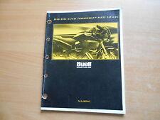 Teile Katalog parts catalog BUELL Thunderbolt S3 / S3T Modelljahr 2000-2001