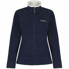 LADIES REGATTA FULL ZIP FLEECE JACKET SIZES 10-26 clmce
