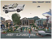 Max Dalton Back to the Future fine art poster print limited edition