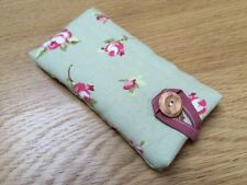 Clarke and Clarke Rosebud Sage Fabric - iPod Nano 7th / 8th Gen Padded Case