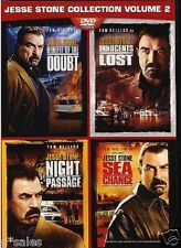 Jesse Stone Vol 2 4 Movie Set ~ NEW 2-DISC DVD SET (Benefit of the Doubt + More)