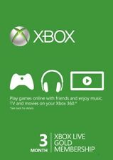 3 Month Xbox Live Gold Membership KEY (Xbox One/360) Region Free