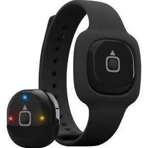 iFit Act IFACTLX14 Fitness Tracker Band 2 Straps L & XL Black