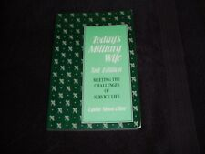 TODAY'S MILITARY WIFE Book ISBN# 0-8117-2580-4 by Lydia Sloan Cline FREE SHIP!