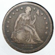1872 SEATED LIBERTY SILVER DOLLAR - 05401