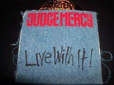 Judge Mercy Live With It Rare Australian CD EP Single