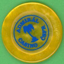 Czechoslovakia - Admiral Casino CSFR - old casino gambling chip