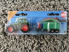 SIKU 1675 Tractor with Wood Chippers Metal and Plastic Parts ages 3+ NEW