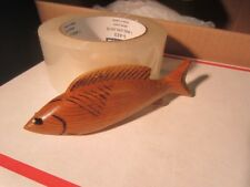 DICK DON TRUDELL  ICE  FISHING SPEARING DECOY CONTEMPORARY XMAS ORNAMENT 90 A2