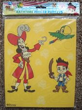 ***NEW*** DISNEY JAKE AND THE NEVERLAND PIRATES BATHTIME FINGER PUPPETS.