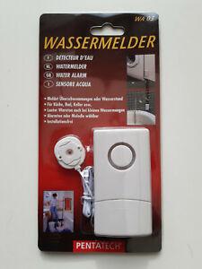 PENTATECH WA03 Wassermelder mit externem Sensor batteriebetrieben