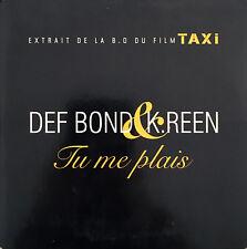 Def Bond & K.Reen CD Single Tu Me Plais - Promo - France (VG+/VG+)