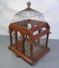 Bird Cage French Victorian Shabby Chic Birdcage Wire & Wood Vintage