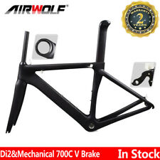 Carbon Fiber Bike Frame 48/51/54/56 Road Bicycle Cycling Frameset 700C Frames