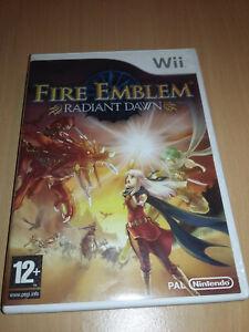 Jeu Nintendo WII Fire Emblem Radiant Dawn Complet FR